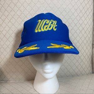 Vintage UCLA Trucker Hat Blue and Gold Mesh Cap